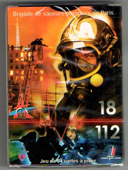 Extrem jeu de carte Sapeur pompier | AASPP91 GW91