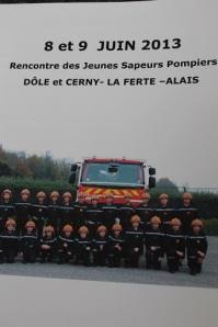 Rencontre JSP Dôle et Cerny-La Ferté-Alais