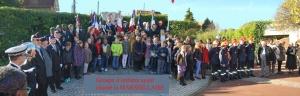 Groupe enfants ayant chante la Marseillaise 2014