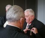 Mr François MESLE recoit la médaille ANT-TRN- Association Nationale Titulaires - Titre  Reconnaisance de la Nation