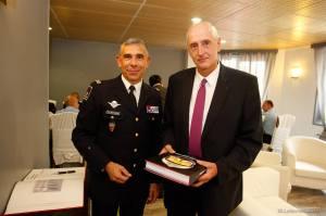Général Philippe BOUTINAUD et Monsieur Michel CADOT Préfet de police