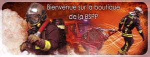 Boutique en ligne de la BSPP