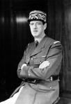 1940-1945, portrait du gŽnŽral de Gaulle.