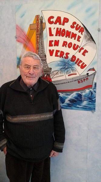 L'aumonier BSPP Francois Gourves